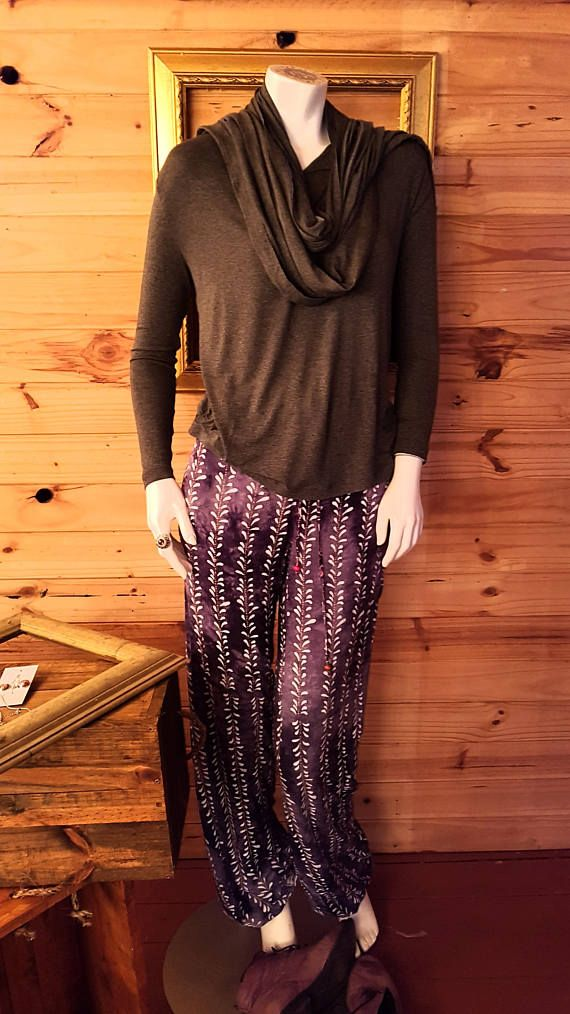 Light weight Slinky Batik Pant