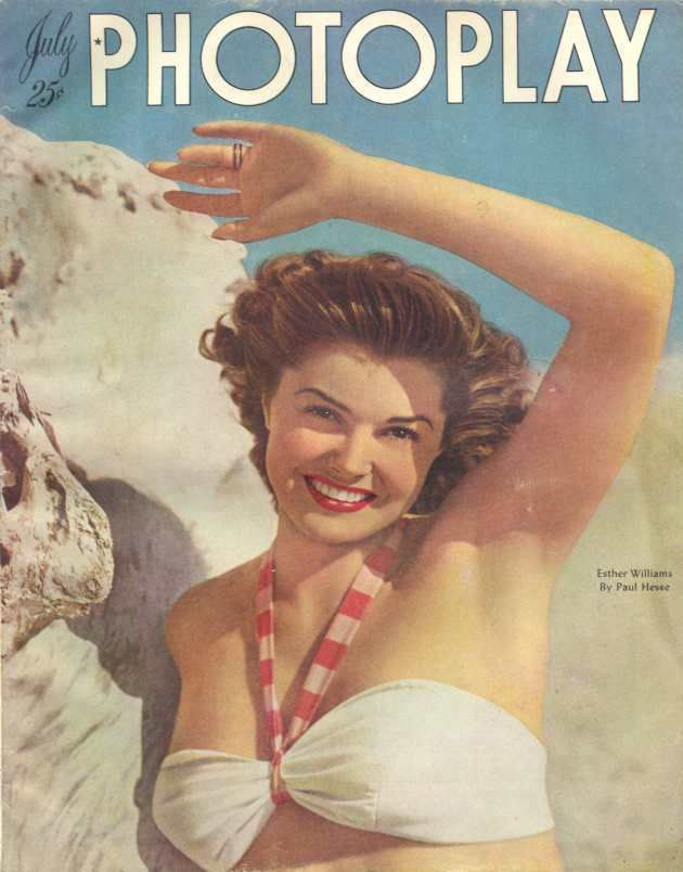 Esther Williams..old swimming movie star