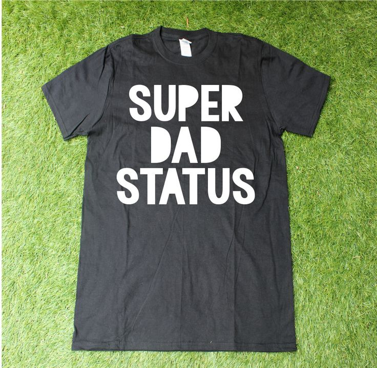Super Dad Status T-Shirt for Father's Day, Funny Dad Shirt, Father's Day gift, Men's shirt, Superhero shirt for Dad, Super Dad by TheCapeLady on Etsy
