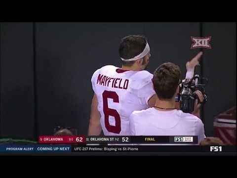 Oklahoma at Oklahoma State Football Highlights - YouTube