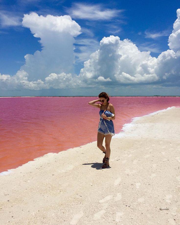 Laguna Rosada, Las Coloradas, Yucatán