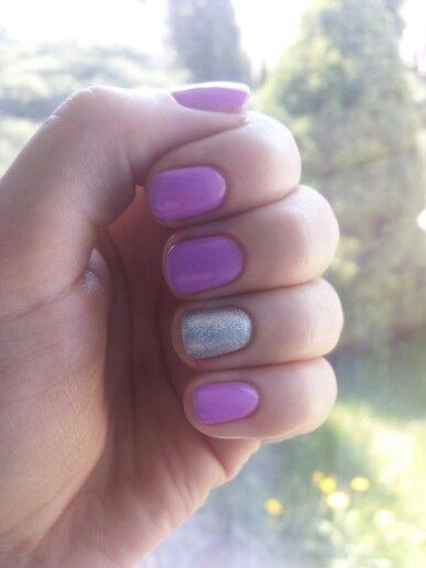 Wiosenny fiolet- semilac (035, 093)