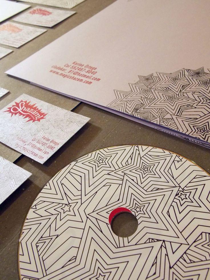 Papelería: Folders, Tarjetas de presentación, Caja de CD.