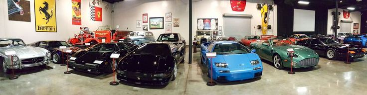 Check out the rare sports cars of the Marconi Automotive Museum