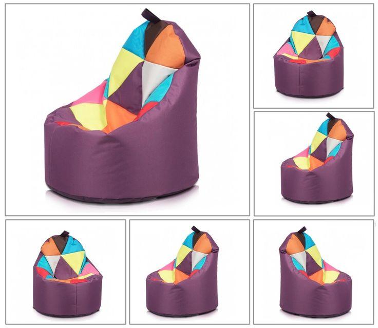 Details Zu Yoko Sitzsack Sitzkissen Sitzsäcke Bodenkissen Beanbag Sessel  Polyester Mix