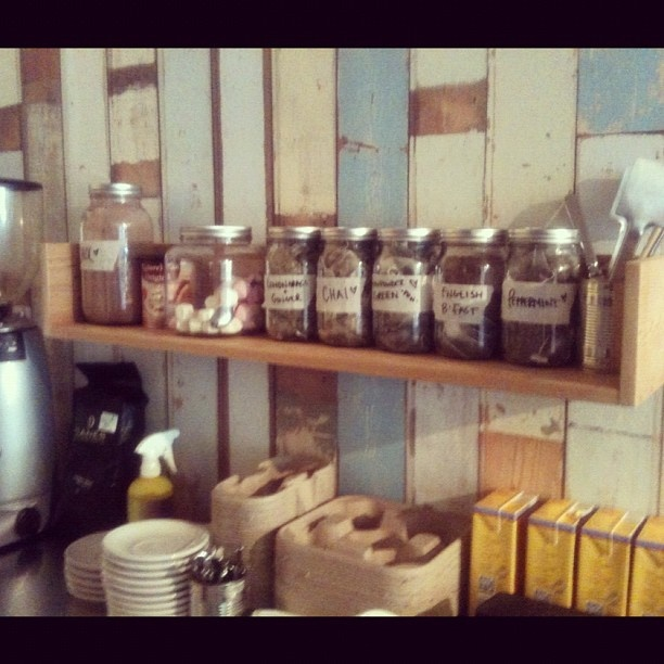 floating shelves- Tortoise and the Hares, Espresso bar. Palm Beach