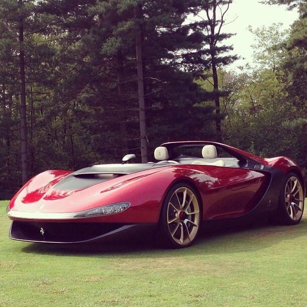 #Ferrari Sergio (#Pininfarina) @ Golf Club La Mandria
