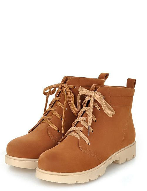 Comfortable shoes new fashion pure color cheap boots Z-YAOH533-01