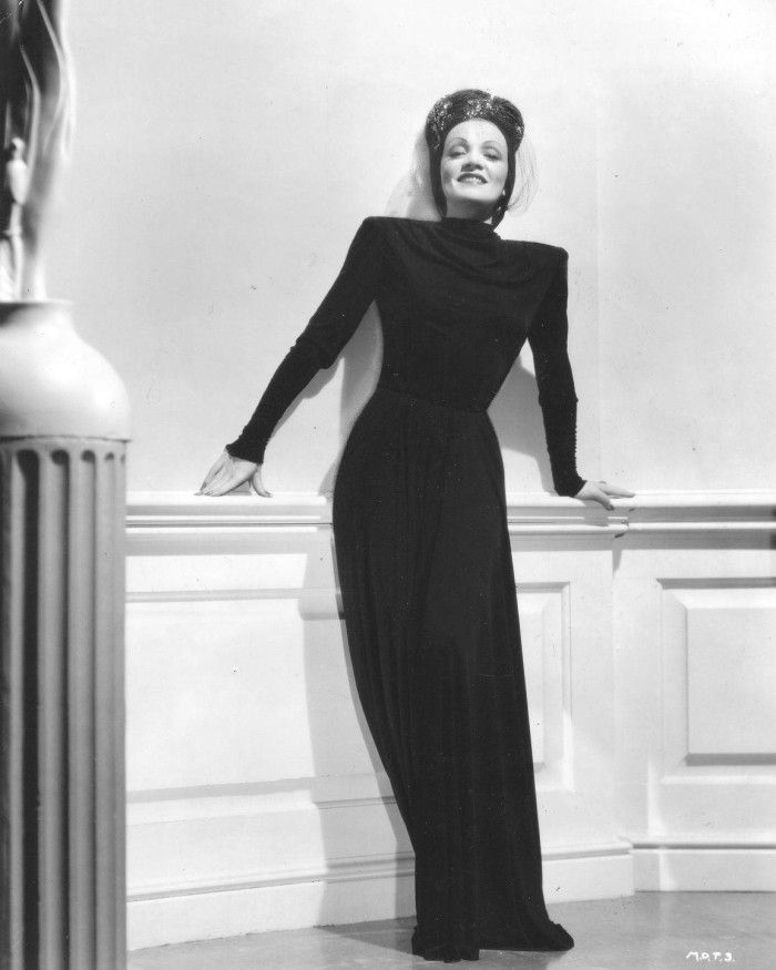 Style icon: Marleen Dietrich Key words: classic