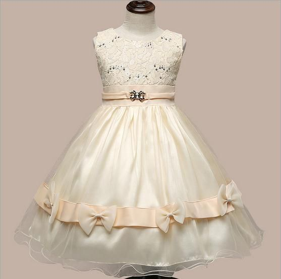 $24.29 (Buy here: https://alitems.com/g/1e8d114494ebda23ff8b16525dc3e8/?i=5&ulp=https%3A%2F%2Fwww.aliexpress.com%2Fitem%2F2016-summer-new-sleeveless-baby-girls-evening-dress-flower-lace-next-children-princess-dress-suit-2%2F32651241132.html ) 2016 summer new sleeveless baby girls evening dress flower lace  children princess dress suit 2-8T beige vestido infantil for just $24.29