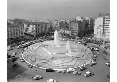 1959 ~ Omonia square, Athens  https://www.facebook.com/groups/oldgreece/?fref=nf