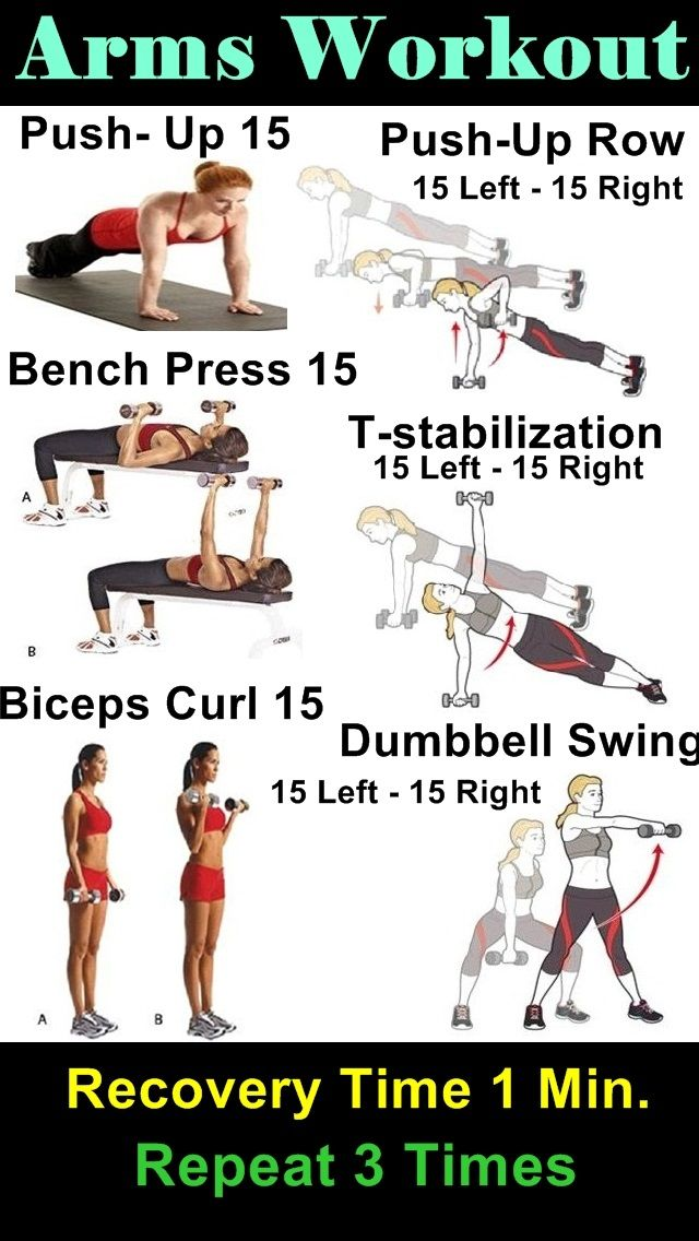 Arms Workout #fitness #workout