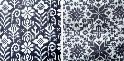 these knitting color work designed by Mariko Mikuni    ほぼ日の水沢ダウン2013 - ほぼ日刊イトイ新聞