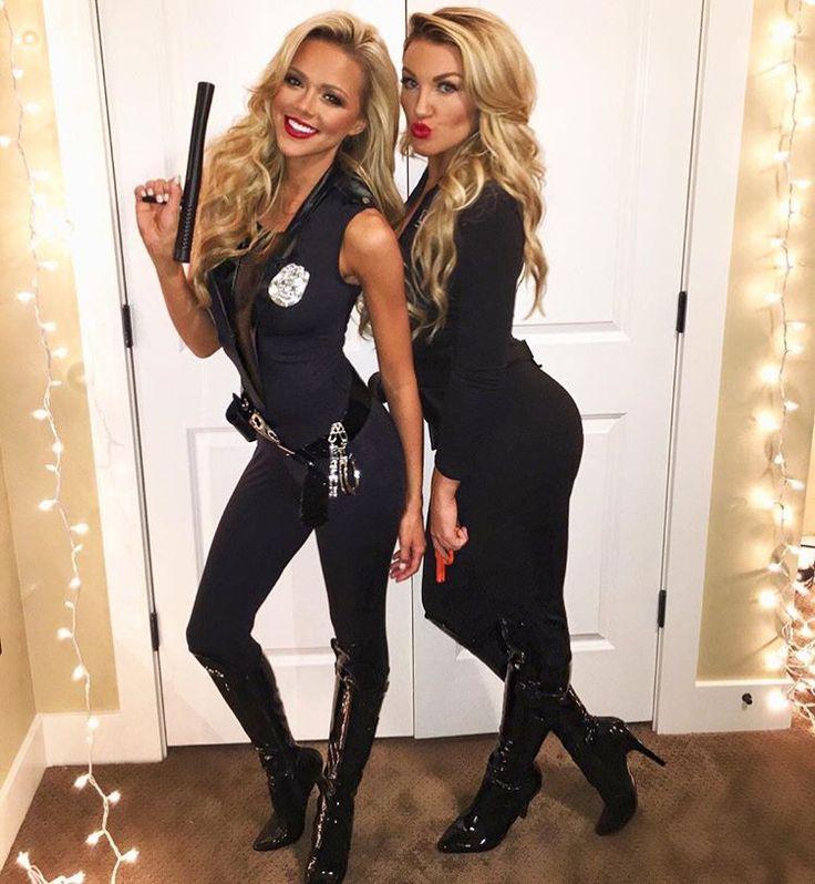 Halloween costume cop
