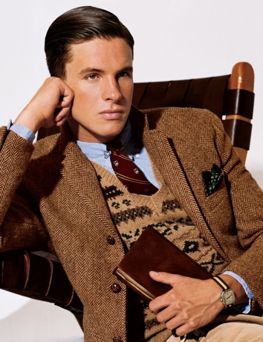 Love the preppy men's look