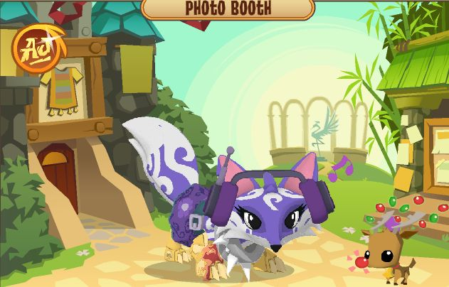 My fox on animal jam buddy me I am ebee5162