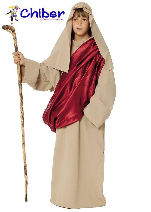 Disfraz San José Niño: La celebración oficialmente reconocida del Día del Padre varía de acuerdo al país donde se celebre. La tradición católica europea lo conmemora el 19 de marzo, día de San José, padre de Jesús. Sin embargo, la mayoría de países iberoamericanos festejan el Día del Padre el tercer domingo de junio.