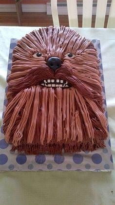 chewbacca star wars cake - Google Search