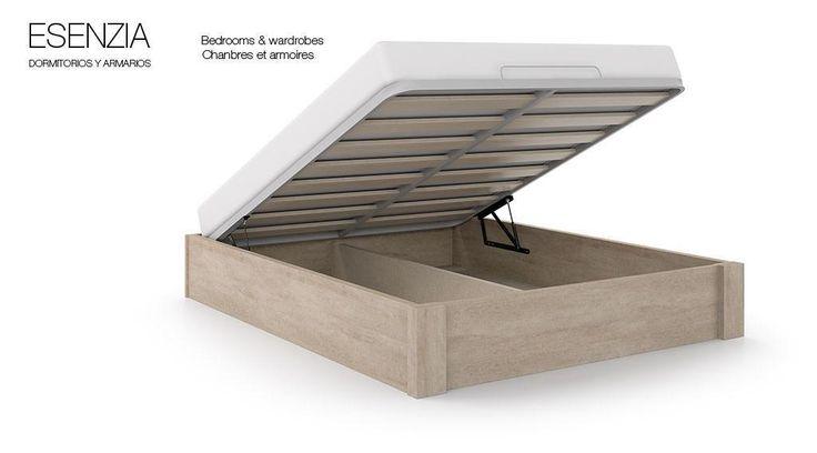 Canape abatible Sava del catálogo de dormitorios y armarios Esenzia de BaixModuls