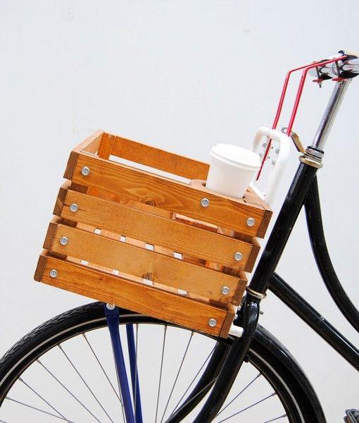 design fiets krat transporter