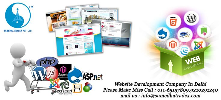 #Cheapest #Website #Development only with #sumedha #tradex  please give miss call : 011-65157809