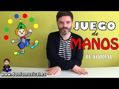 JUEGO DE MANOS  Donlumusical  - YouTube