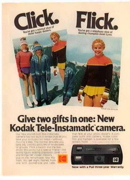 Kodak Tele-Instamatic Camera – Sold (1975)