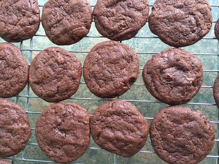 Biscuits double chocolat au piment