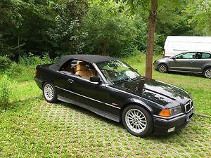 BMW E36 320I M52 Automatik Cabrio Schwarz 8fach mit TÜV Leder DAB Radio | eBay