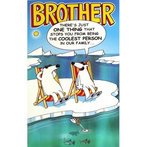 Funny Birthday Greetings Brother Funny Birthday Card  B Pinterest Funny