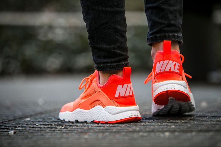 Nike Wmns Air Huarache Run Ultra ''Bright Mango'' (819151-800) - http://goo.gl/NZ5Xzy