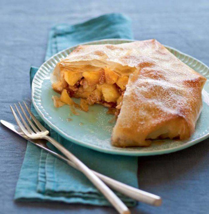 Pastilla aux pommes, beurre demi-sel