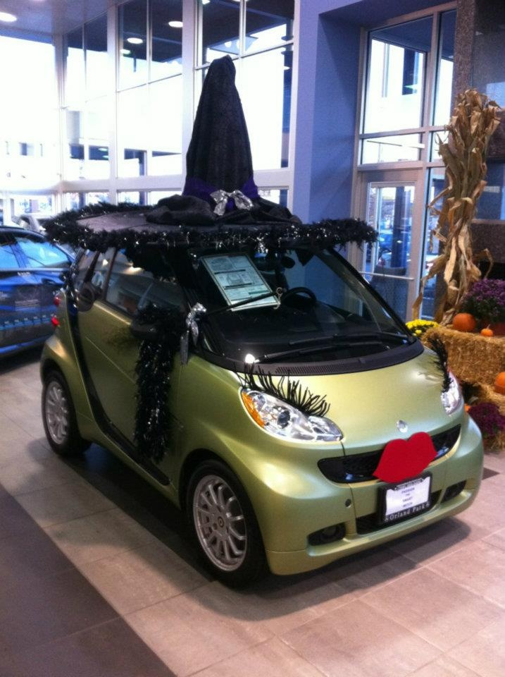 smart witch halloween - Car Decorations For Halloween