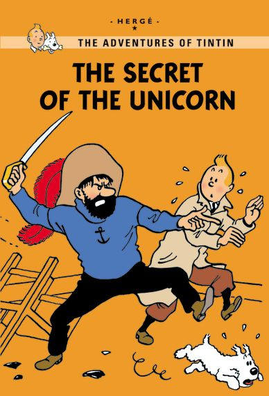 Little, Brown Young Readers The Secret of the Unicorn  Published: May 2011  Tintin buys a model of a seventeenth-century warship at the Old Street Market. The model turns out to be a copy of the Unicorn—a ship once sailed by Captain Haddock's illustrious ancestor— and it holds a clue to finding the treasure of a notorious pirate. But Tintin and Haddock aren't the only ones on the treasure hunt! In this new extended edition, 30 extra pages explain the inspiration behind The Secret of the…