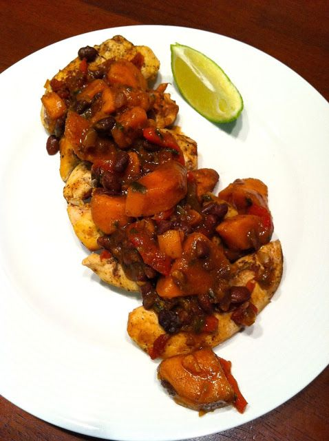 August 27- Slow-Cooker Latin Chicken with Black Beans and Sweet ...
