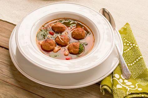 Italian Meatball Soup - Hello HealthyHello Healthy