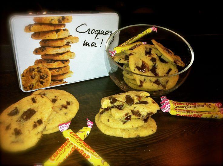 Cookies carambars au Cooking Chef