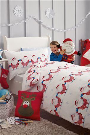 Santa All-In-One Printed Bed Set