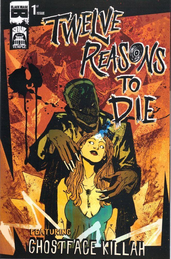 Twelve Reasons to Die Issue #1 2013 Black Mask Comics
