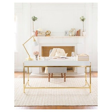 The Sugar Paper Desk is back at Target, and I think everyone in our office needs one!!