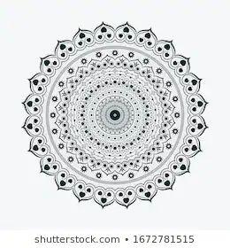 Download Love Shape Mandala Vector Mandala Ornamental Stock Vector ...