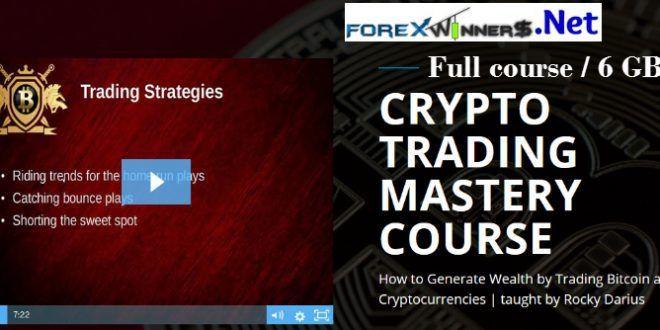 Rocky Darius Crypto Trading Mastery Course Forex Winners