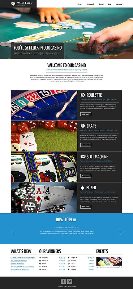 97 best drupal themes images on pinterest drupal web layout and template 49318 online casino drupal website template pronofoot35fo Gallery