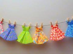 """Résultat de recherche d'images pour """"robe en origami tutos"""""""