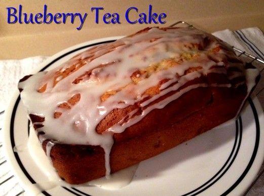 Blueberry Tea Cake http://www.momspantrykitchen.com/blueberry-tea-cake ...