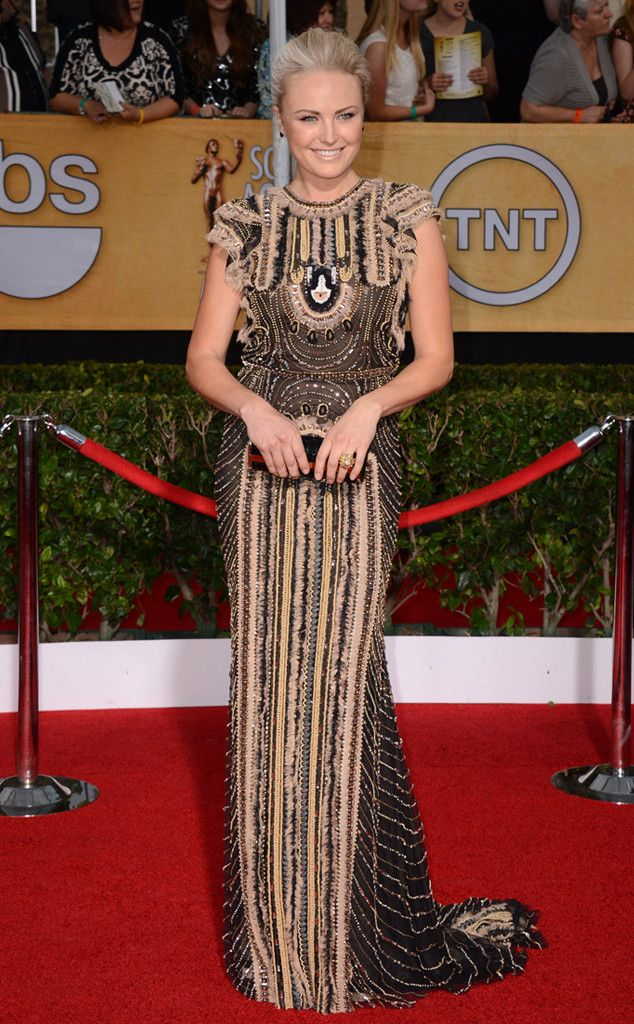 Malin Akerman from 2014 SAG Awards: Red Carpet Arrivals | E! Online