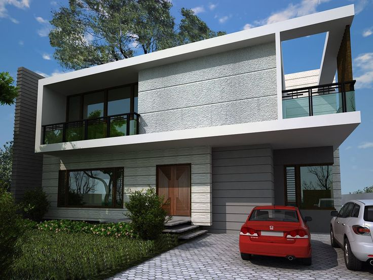 1000 Sqyrd Residential Bungalow Elevation  Cube Design ...