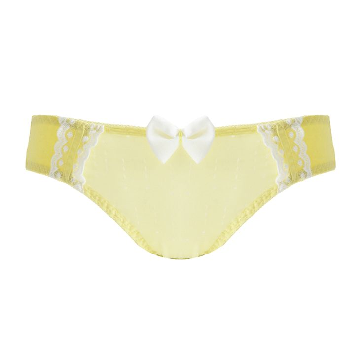 New-Style-Girls-Chiffon-Bow-Underwear-Comfort-Lift-The-Hips-Underpants
