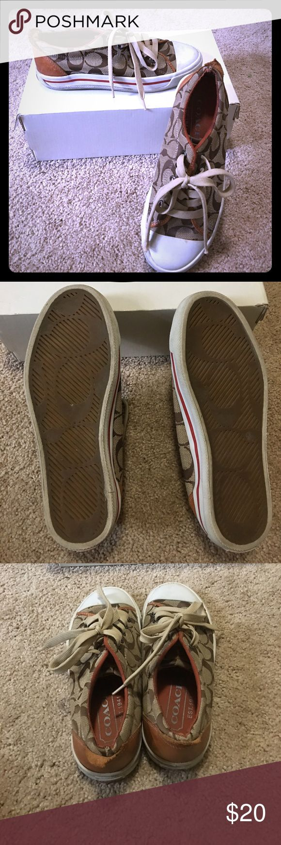 COACH sneakers! Sz 6! Stylish and comfy! Authentic COACH sneakers! Sz 6! Coach Shoes Sneakers