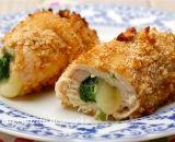 Involtini di pollo con spinaci al forno